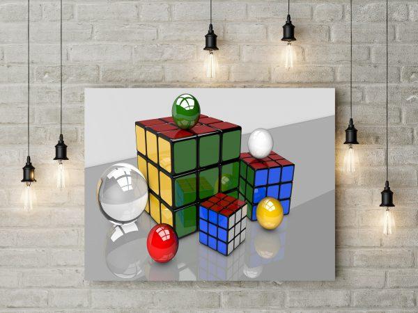 3D Balls & Cubes 1