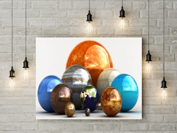 3D Colorful Planets 1