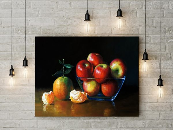 Apples And Orange Painting 1