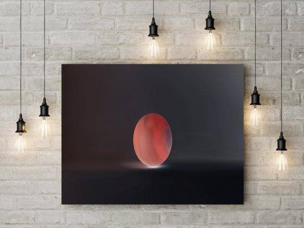 Artwork Minimalism Planet 1