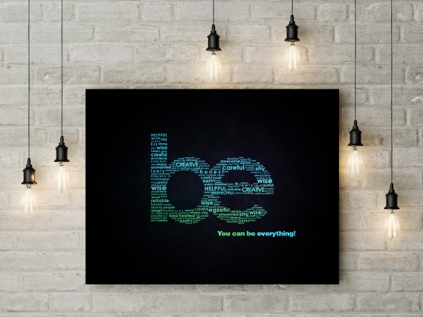 BE Motivation Typography 1