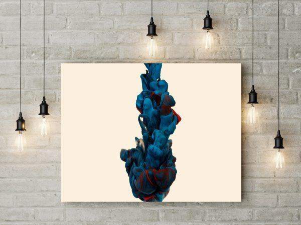 Beautiful 3D Blue Smoke 1