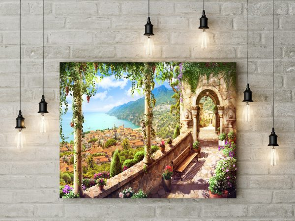 Beautiful View Painting 1