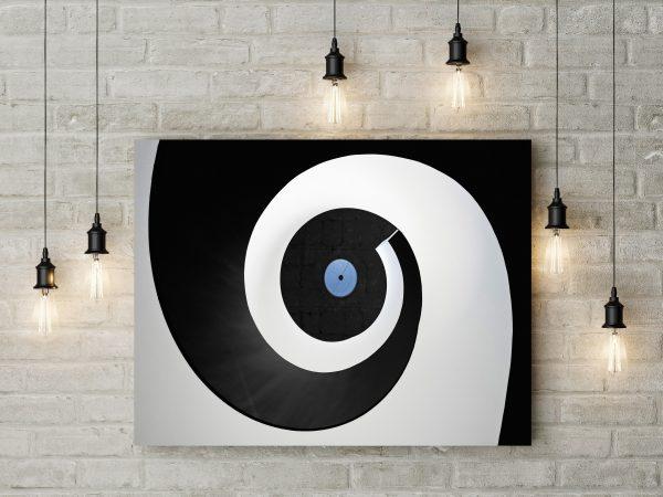 Black And White Circle 1