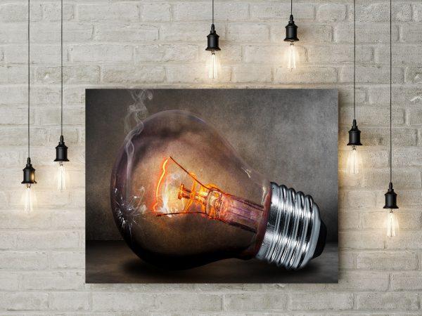 Broken Light Bulb 1