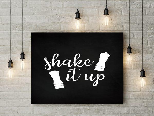 Chalkboard Shake It Up 1