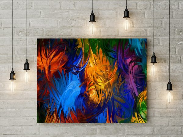 Colorful Abstract Painting 1