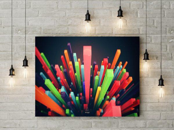 Colorful Pole 1