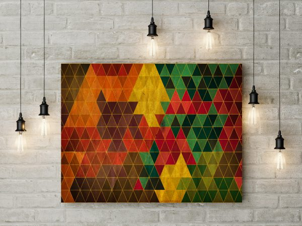 Colorful Triangle Pattern 1