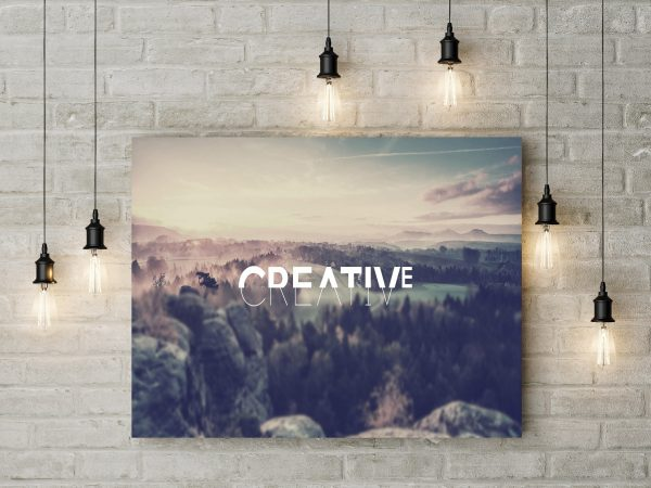 Creative Landscape Typography 1