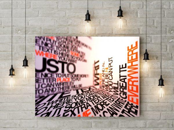 Creative Typography Room 1