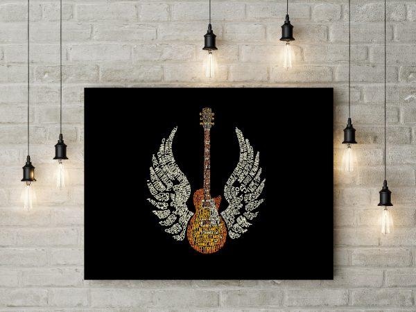 Guitar Typography 1