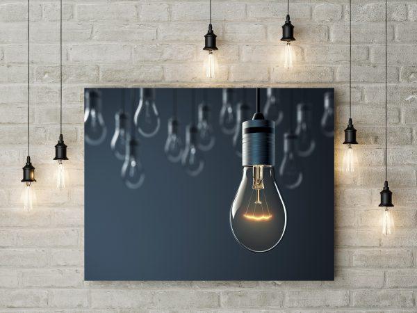 Hanging Light Bulbs 1