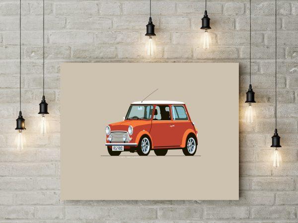 Mini Cooper Digital Art 1
