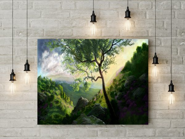 Mountains Painting 1