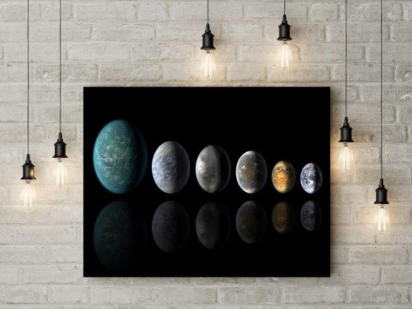 Planets Solar System Digital Art 1