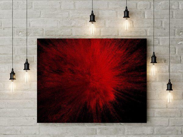 Red Powder Explosion 1
