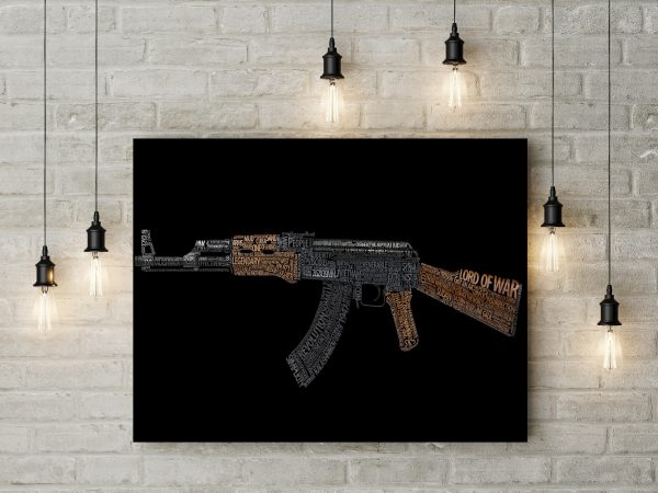 Rifle Typography 1