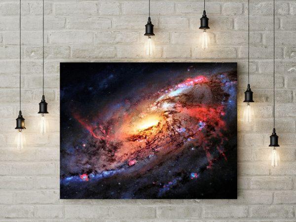 Space Colorful Vortex 1