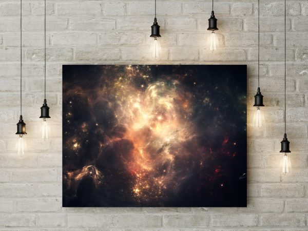 Space Nebula Starlight 1