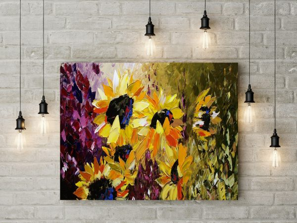 Sunflowers Painting 1