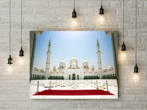 Abu Dhabi Sheikh Zayed Mosque 1