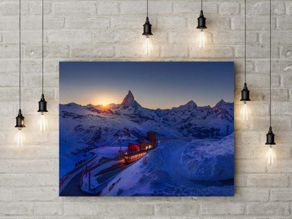 Alps Mountains In Switzerland 1