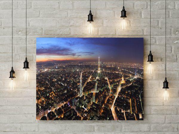 Beautiful View Of Paris City 1