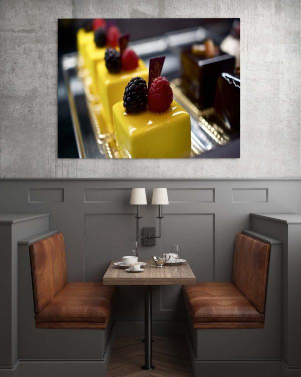 Beautiful Yellow Cake 1