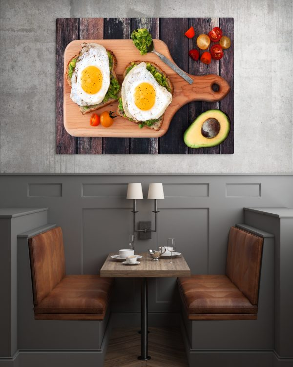 Breakfast With Eggs And Avocado 1