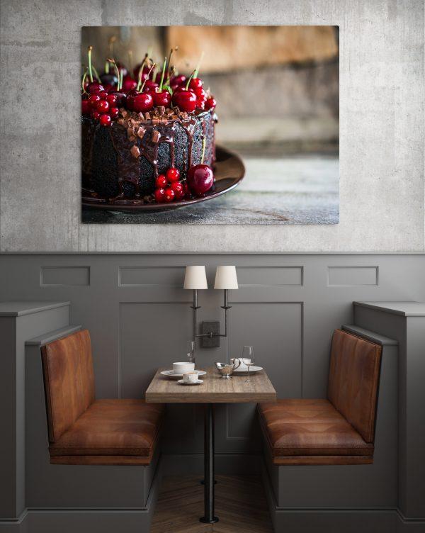 Chocolate Cherry Cake 1
