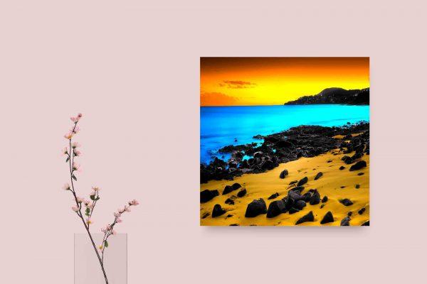 Colored Beach 1