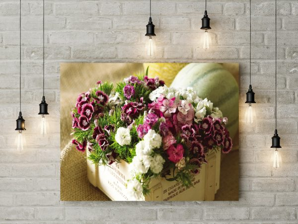 Colorful Flowers In A Box 1