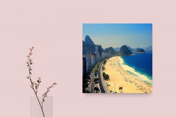 Copacabana Beach Rio De Janeiro Brazil 1