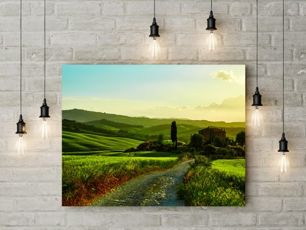 Countryside Road In Tuscany Italy 1