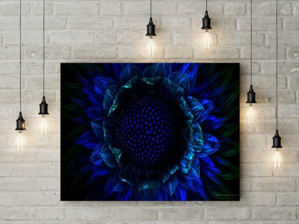 Dark Blue Flower 1