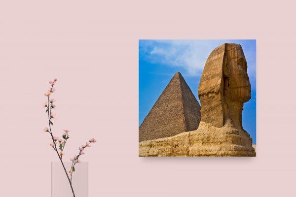 Egypt Sphinx Pyramid 1
