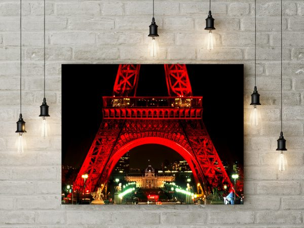 Eiffel Tower At Night 1