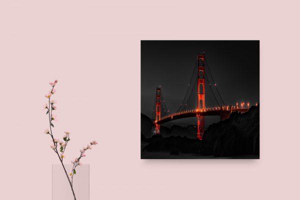 Golden Gate Bridge San Francisco During Night 1