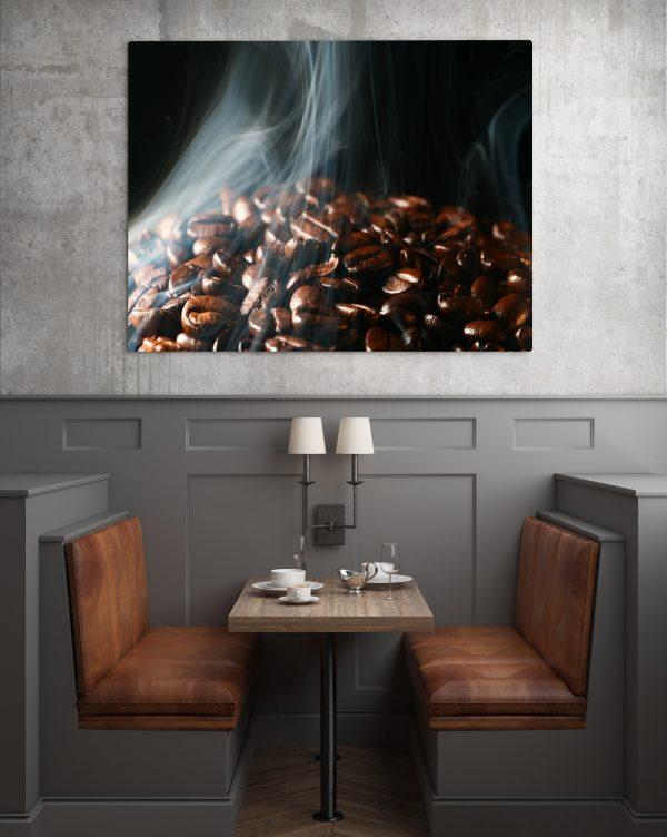 Hot Coffee Beans 1