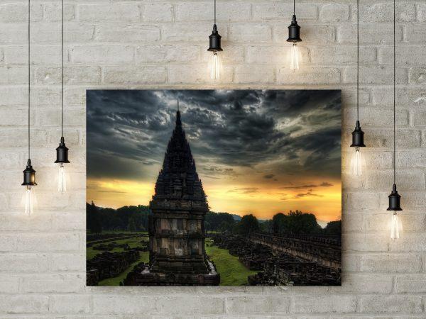 India Temple Stones Dusk 1