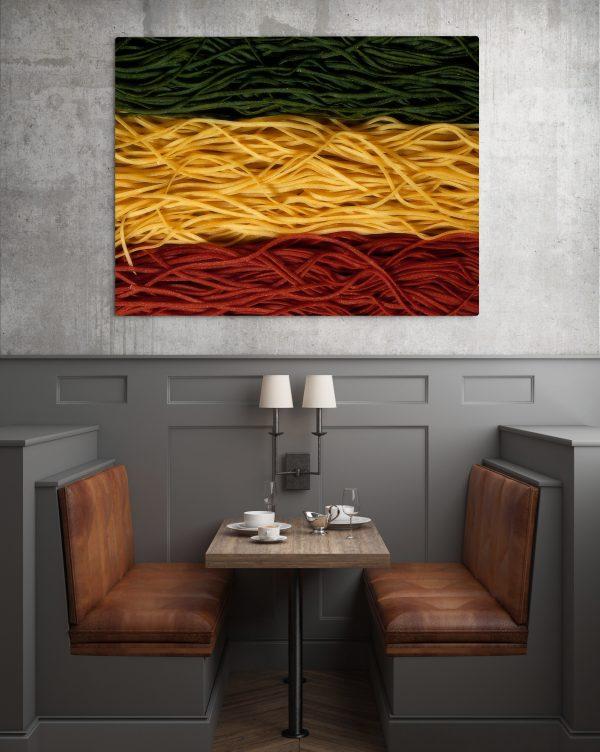Italian Flag Spaghetti 1