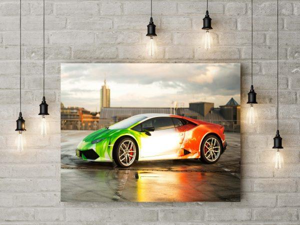 Lamborghini Huracane Italian Flag 1