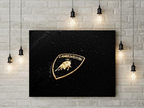 Lamborghini Sign Raining 1