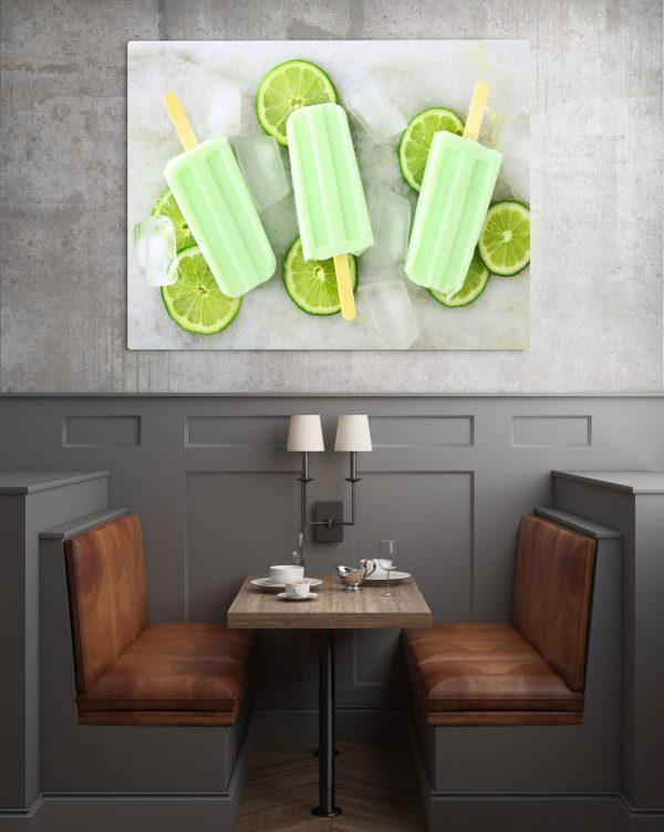 Lime Ice Pop 1