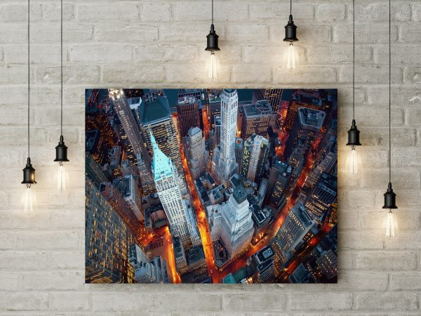 Manhattan Skyscrapers In New York USA 1