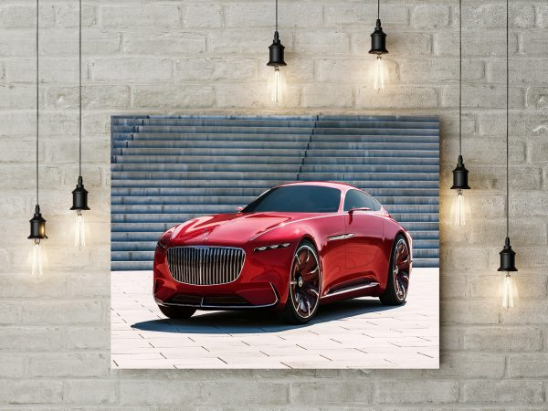 Mercedes Maybach 6 Coupe 1