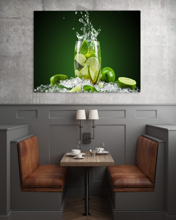 Mojito Lime Ice Drink 1