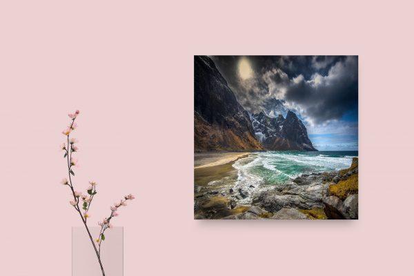 Norway Lofoten Kvalvika Beach 1