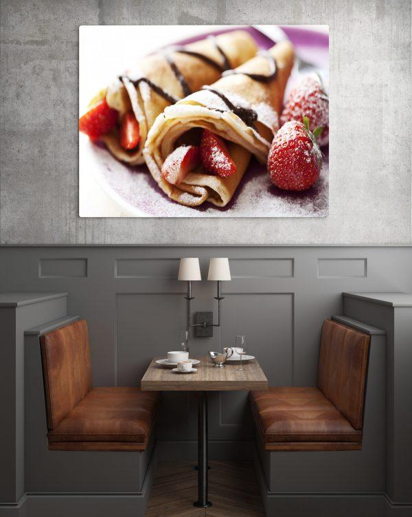 Pancake And Strawberry 1